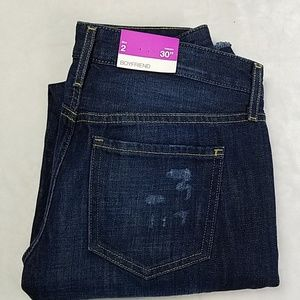 NWT Mossimo Low Rise Boyfriend Jeans